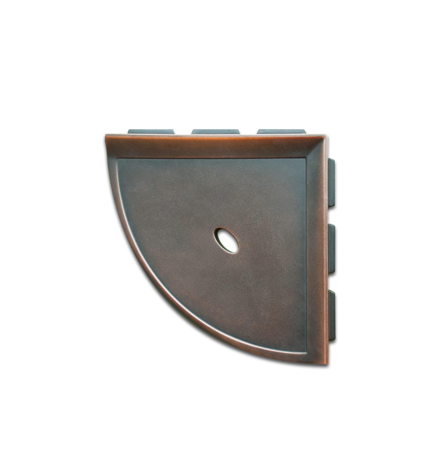 8 Shower Corner Shelf Dark Oil Rubbed Bronze