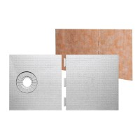 "Kerdi Shower Tray 32"" x 60"" Off Center Drain - Schillings"