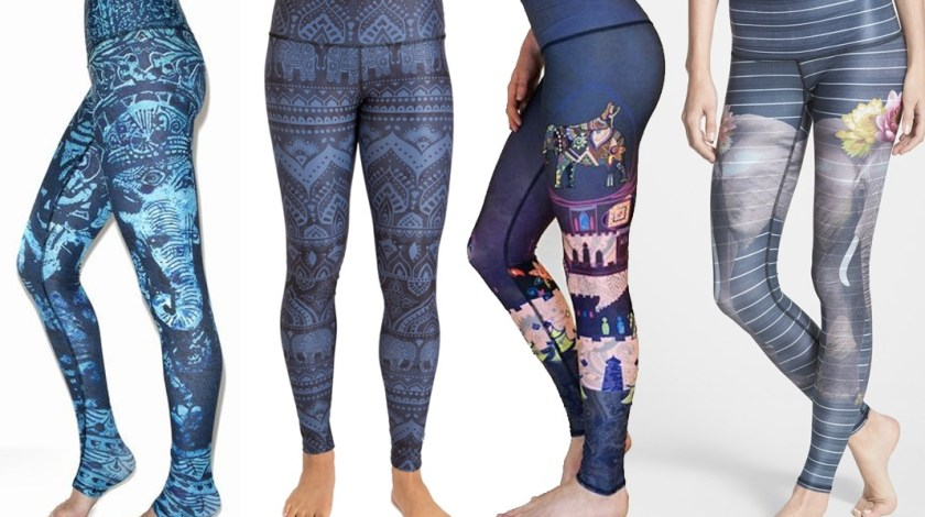 elephant yoga leggings fashion pants