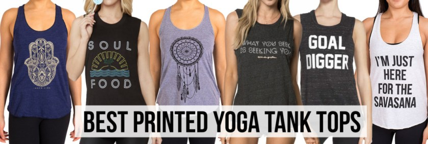 Finest Best Printed Yoga Tank Top Brands - Schimiggy Reviews LJ39