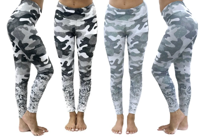 altar ego camo printed leggings