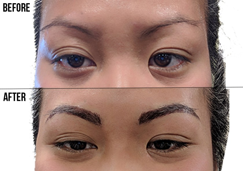 eyebrow microblading before and after schimiggy reviews
