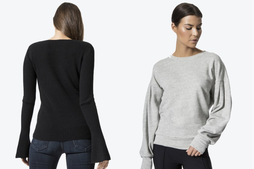 carbon38 sweaters bell sleeve sweater and hong kong sweater