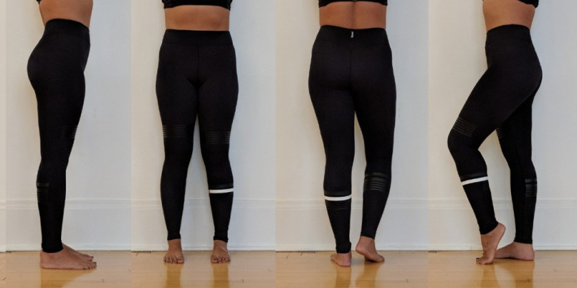Lilybod - Coco Shadow Lux Leggings - Try On
