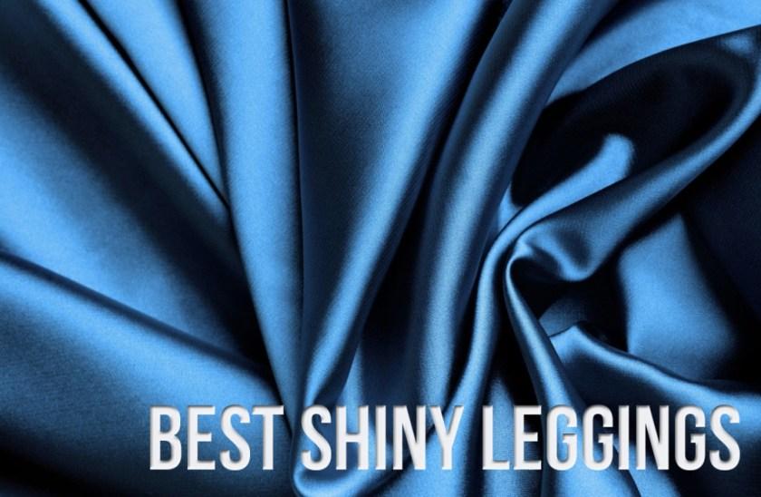 best shiny leggings activewear yoga pants fashion
