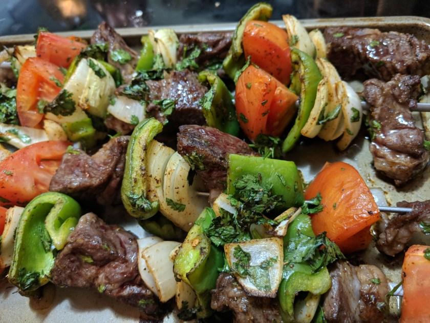 imperfect produce subscription box shish kebabs