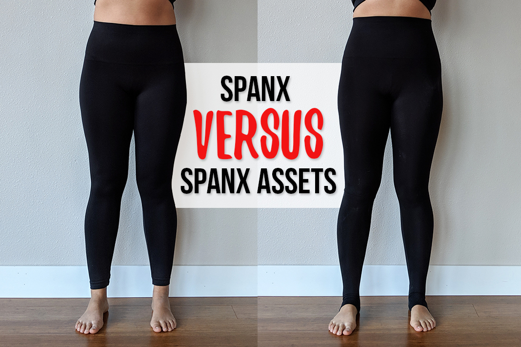 c60cb85ef44ef Difference Between Original SPANX® and ASSETS® by SPANX® Leggings -  Schimiggy Reviews