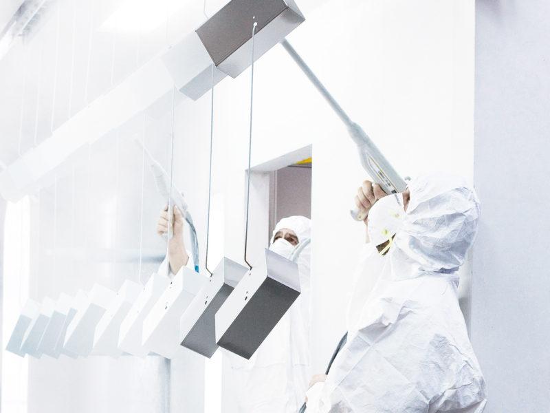 Oberlfächentechnik – Nano-Hightech-Pulverbeschichtung