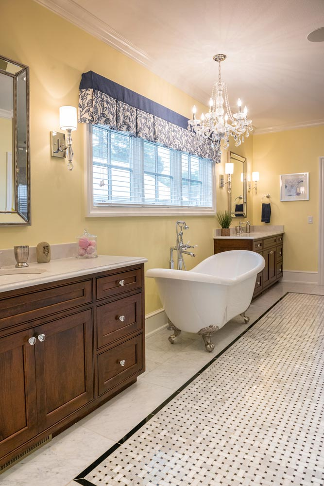 Hardwood Custom Bathroom Cabinet Schlabach Wood Design