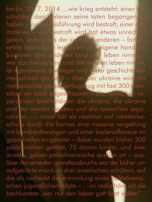 SCHLACHTEN | Shadows of Memories | Image © Gisela Weimann