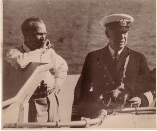 1935 mit Max Hoseit, Ostseeeklein