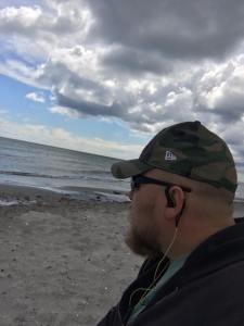 Jesper Bjørn Schlæger opdragelse ved stranden