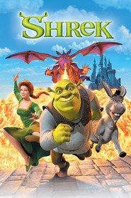 """Plakat for filmen """"Shrek"""""""