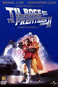 "Plakat for filmen ""Back to the Future Part II"""
