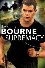 """Plakat for filmen """"The Bourne Supremacy"""""""