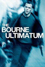 """Plakat for filmen """"The Bourne Ultimatum"""""""