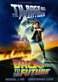 "Plakat for filmen ""Back to the Future"""