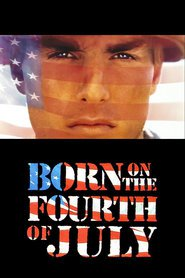 "Plakat for filmen ""Born on the Fourth of July"""