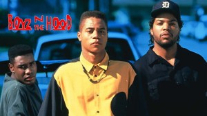 "Billede fra filmen ""Boyz n the Hood"""