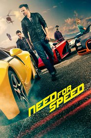 "Plakat for filmen ""Need for Speed"""