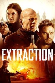 """Plakat for filmen """"Extraction"""""""