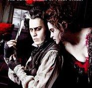"Plakat for filmen ""Sweeney Todd: The Demon Barber of Fleet Street"""