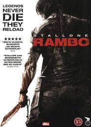 """Plakat for filmen """"Rambo"""""""