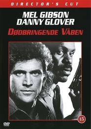 """Plakat for filmen """"Dødbringende Våben"""""""
