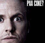 """Plakat for filmen """"Anders Matthesen: Anden På Coke?"""""""