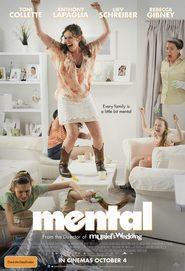 """Plakat for filmen """"Mental"""""""
