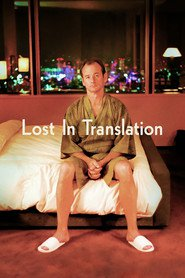 "Plakat for filmen ""Lost in Translation"""