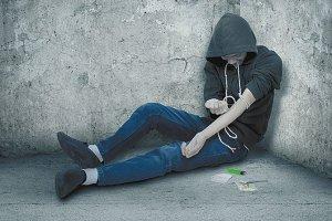 Narkoluder fastholdes i prostitution på grund af sit narkomisbrug - Arkivfoto