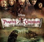 """Plakat for filmen """"Pirates Of The Caribbean 3: Ved Verdens Ende"""""""