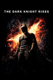 "Plakat for filmen ""The Dark Knight Rises"""
