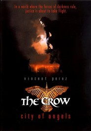 "Plakat for filmen ""The Crow: City of Angels"""