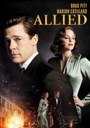 """Plakat for filmen """"Allied"""""""