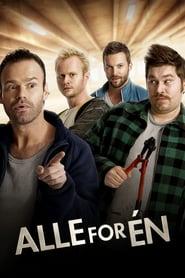 """Plakat for filmen """"Alle for én"""""""
