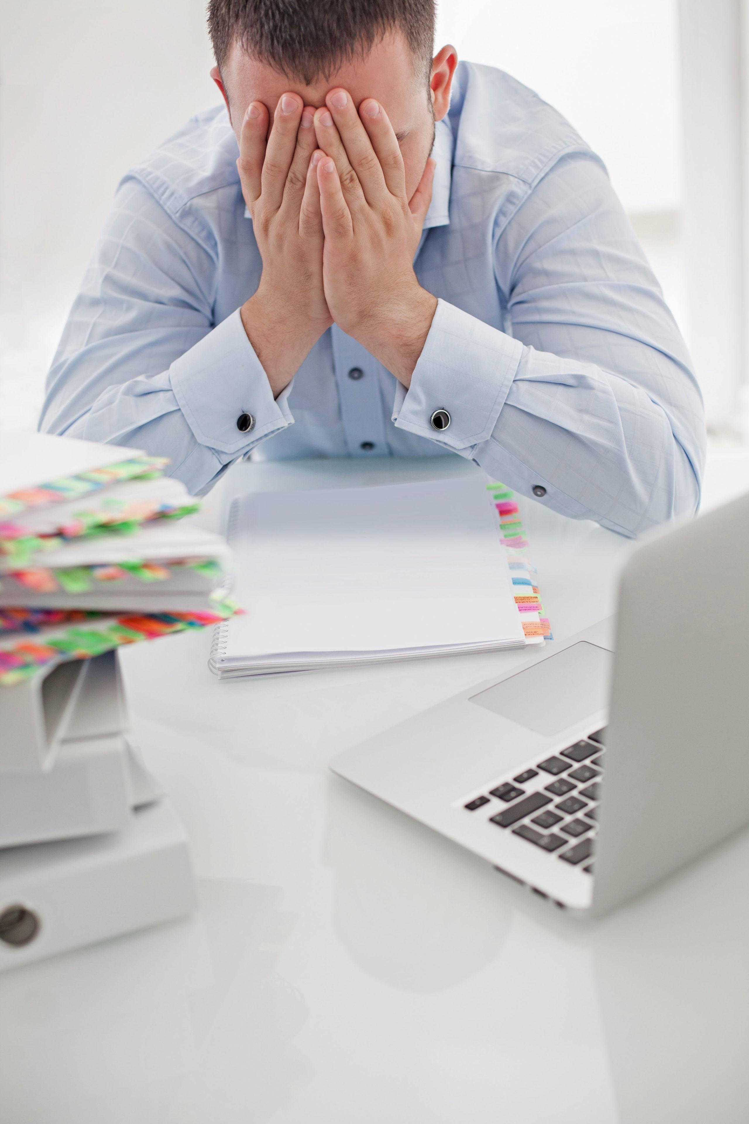 Notbremse: Die Diagnose Burn-out durch Dauerstress ist längst keine Ausnahme mehr und kann jeden treffen.