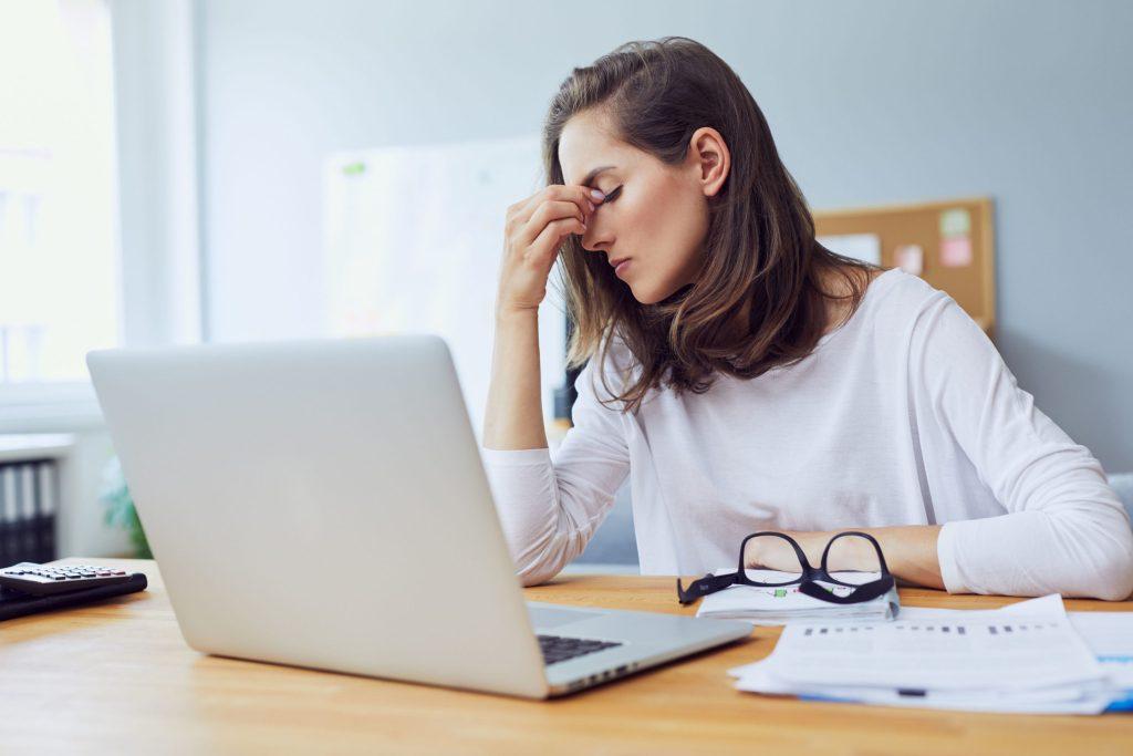 Hohes Arbeitspensum und Reizüberflutung: Der Job gehört zu den häufigsten Stressfaktoren.