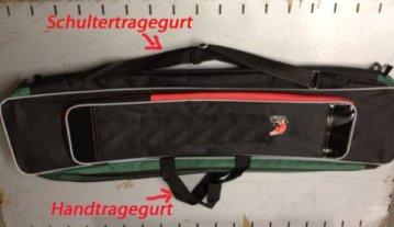 Angeltasche Rutentasche Angelkoffer 90cm Tasche von KANANA -