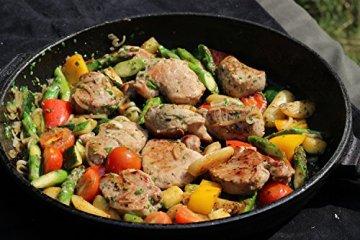 Auswärts Essen Buch - Leckere Rezepte & Kochideen. Ein Outdoor-Kochbuch für Angler und Naturfreunde - Kochbuch für Männer, schnelle Rezepte, Angelbuch, Kochbücher, -