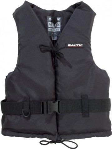 """BALTIC Schwimmweste """"Aqua"""", 70-90kg, 50N, Schwarz -"""