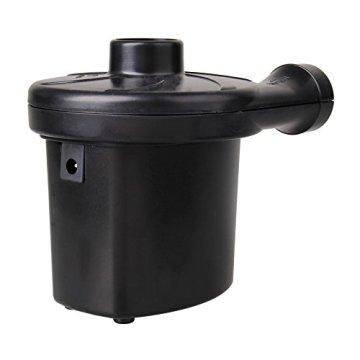 Baytter 12 V 230 V Elektrische Luftpumpe Gebläsepumpe fürs Auf- & Abpumpen mit 3 Adaptern Camping Outdoor -