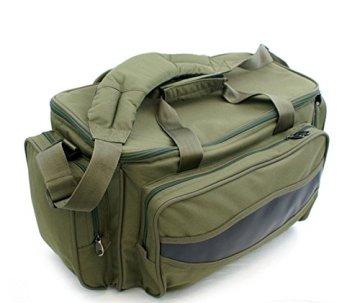 Carryall Karpfentasche Angeltasche groß mit Isoliertem Hauptfach -