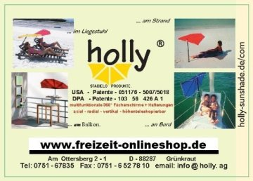 Doppelpaddel -150 cm getrennt auch als 2 Stechpaddel einsetzbar - Vertrieb durch HOLLY PRODUKTE STABIELO ® INNOVATIONEN MADE in GERMANY - holly-sunshade ® -