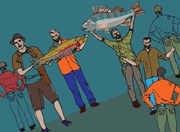 Echte Angler weinen nicht: 50 neue Geschichten -