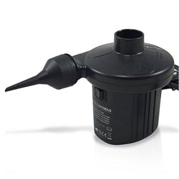 Elektrische Luftpumpe 230V Elektropumpe Pumpe Gebläsepumpe Luft für Schwimmreifen -