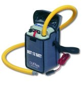 Elektrische Luftpumpe BRAVO BST 12 Batt mit integrierter Batterie -