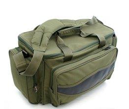 ELKO-2000 Carryall Karpfentasche Angeltasche groß mit Isoliertem Hauptfach -