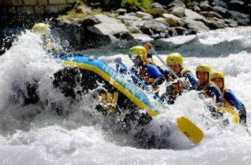 Geschenkgutschein: Rafting in Tirol (Inntal) -